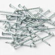 Galvanized iron nails — Stock Photo #46770039