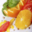 Italy salade — Stock Photo