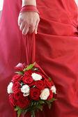 Detay düğün buketi — Stok fotoğraf