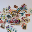 Постер, плакат: Postage stamps in bulk
