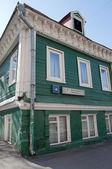 Una de las últimas casas de madera de moscú — Foto de Stock