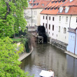 Spring channels in Prague. — Stock Photo