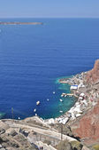 The rocky coast of the island in the Aegean sea. — Stock Photo
