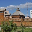Постер, плакат: The old wooden town Yakutsk