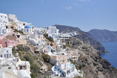 Landscape Greek island in the Mediterranean sea. — Stockfoto