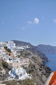 Landscape Greek island in the Mediterranean sea. — Stock Photo