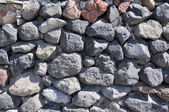Texture stone masonry — Stock Photo