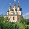 Orthodox temple on the background of blue sky. — Stock Photo #41433119