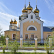 Orthodox temple on the background of blue sky. — Stock Photo #42219917