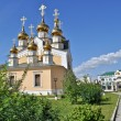 Orthodox temple on the background of blue sky. — Stock Photo #42219989