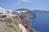 Landscape Greek island in the Mediterranean sea. — Foto Stock