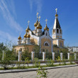 Orthodox temple on the background of blue sky. — Stock Photo #45532265