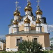 Orthodox temple on the background of blue sky. — Stock Photo #45532267