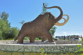 Monument mammoth. — Stock Photo