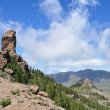 Royalty-Free Stock Photo: Roque Nublo on Gran Canaria, Spain