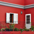 Stock Photo: Mediterranehouse exterior, traditional architecture