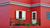 Mediterranean house exterior, traditional architecture — Stock Photo