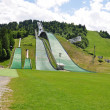 Winter olympics stadium in Garmisch-Partenkirchen — Stock Photo