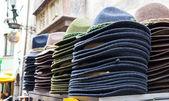 Traditional bavarian hats — Stock Photo