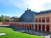 Atocha railway station, Madrid, Spain — Stockfoto