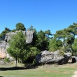 National Park The Ciudad Encantada (Enchanted City), Cuenca (Spain)  — Stock Photo