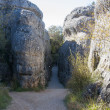 "National Park ""The Ciudad Encantada"" (Enchanted City), Cuenca (Spain) — Stock Photo"