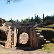 Ancient amphitheatre of Merida, Spain — Stock Photo