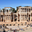 The Roman Theatre (Teatro Romano) in Merida, Spain. — Stock Photo