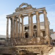 The roman temple of Diana in Merida, Spain — Stock Photo