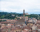 Palazzo Vecchio seeing from Cathedral , Florence. — Stock Photo