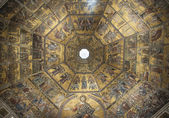 Baptistery of Santa Maria dei Fiore in Florence, Italy — Stock Photo