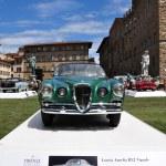 Постер, плакат: FLORENCE ITALY JUNE 15: limited edition vintage car Lancia Aurelia B52 Vignale