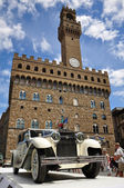 FLORENCE, ITALY - JUNE 15, 2014: vintage car Isotta 8a Castagna — Stock Photo