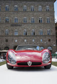 FLORENCE, ITALY - JUNE 15, 2014: Alfa Romeo 33 Stradale Prototipo — Stock Photo