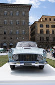 FLORENCE, ITALY - JUNE 15, 2014: limited edition vintage Lancia Florida 4 Porte — Stock Photo