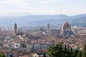 скайлайн из флоренции (панорама), италия — Стоковое фото