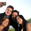 Two couples having fun — Stock Photo #19418735