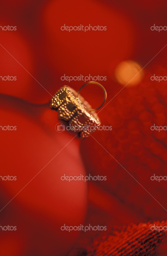 Close up of Christmas ornament  Foto Stock #19424967