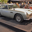 James Bond DB5, 100 years of Aston Martin at InterClassics 2013 — Stock Photo