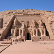 The Great Temple of Abu Simbel — Stock Photo