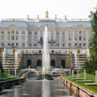 Grand Cascade at Peterhof Palace, Russia — Stock Photo