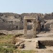 Stock Photo: DenderTemple complex compund walls, Egypt