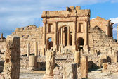 Roman ruins of Sufetula, Tunisia — Stock Photo