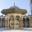 Courtyard of the Great Mosque of Muhammad Ali in Cairo, Egypt — Stock Photo
