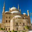 Great Mosque of Muhammad Ali in Cairo, Egypt — Stock Photo