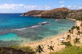 Hanauma Bay in Oahu, Hawaii — Stock Photo