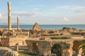 Ancient ruins at Carthage, Tunisia — Stock Photo