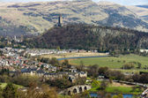 Battlefield of Stirling and Abbey Craig, Scotland — Stock Photo