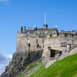 Edinburgh Castle, Scotland - Stock Photo