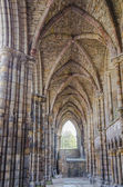 Holyrood Abbey in Edinburgh, Scotland — Stock Photo
